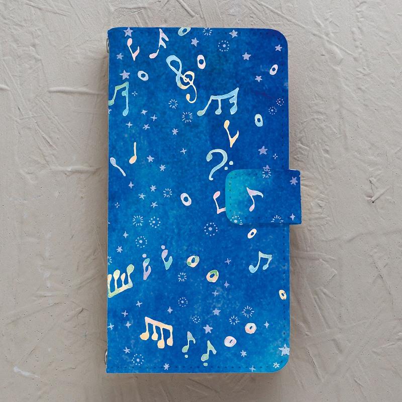【手帳型】オルガンの音 〈よる〉