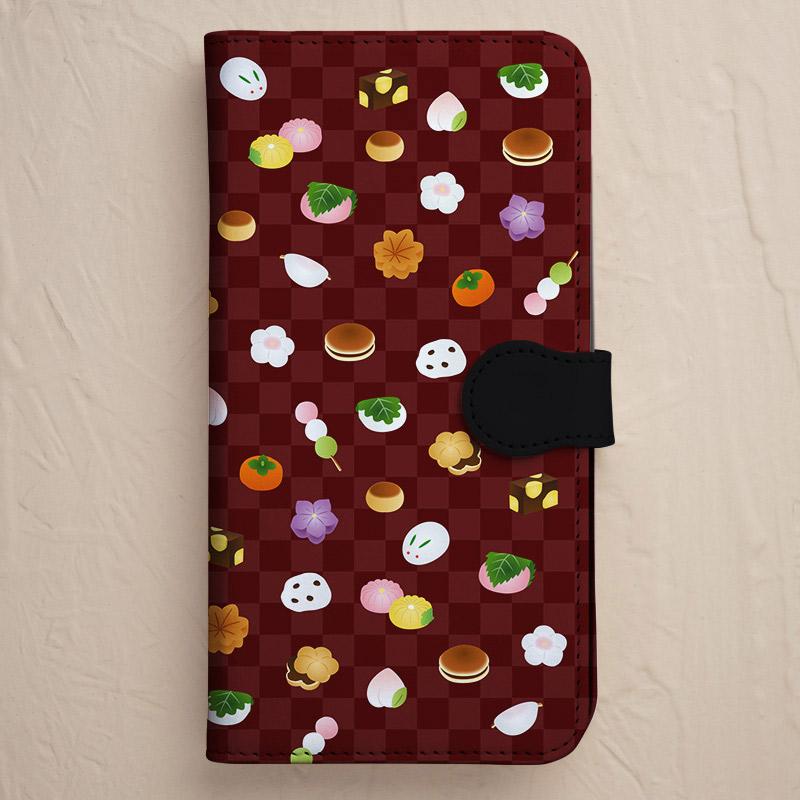 【手帳型】和菓子