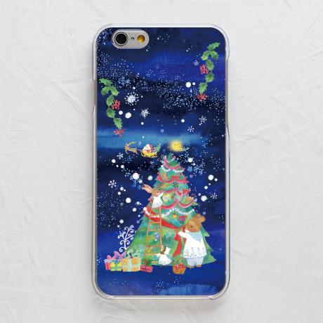 【カバー】クリスマスツリーと雪