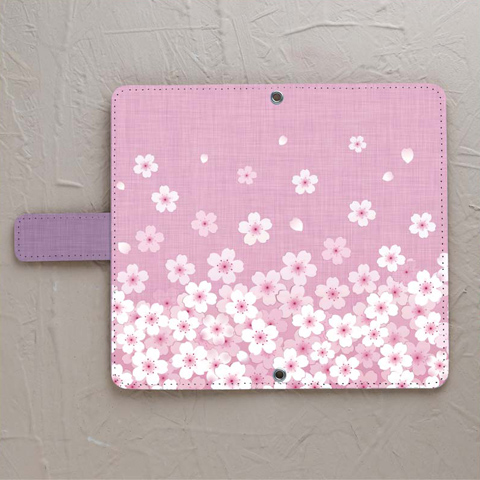 【手帳型】sakura