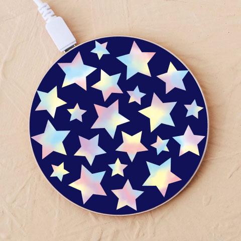 【ワイヤレス充電器】star