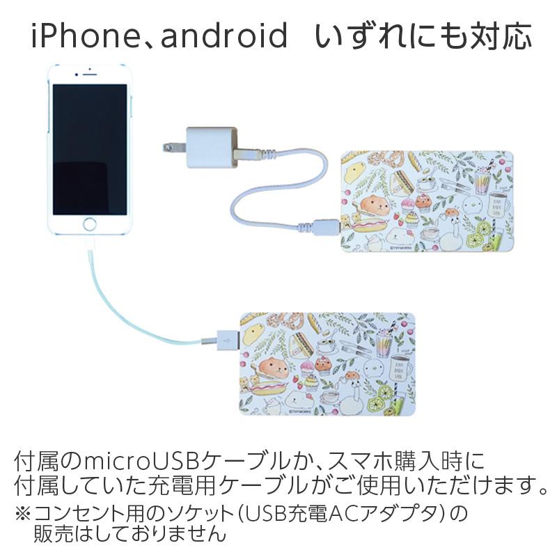 【充電器】カピバラさん モバイルバッテリー
