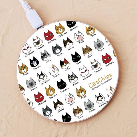 【ワイヤレス充電器】CatChips