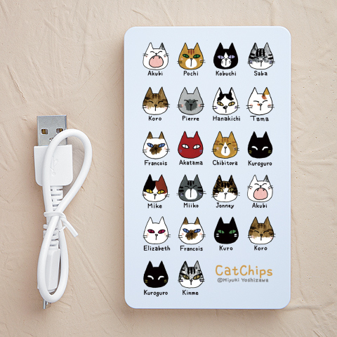 【充電器】CatChips