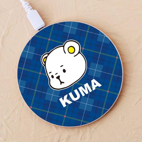 【ワイヤレス充電器】KUMA