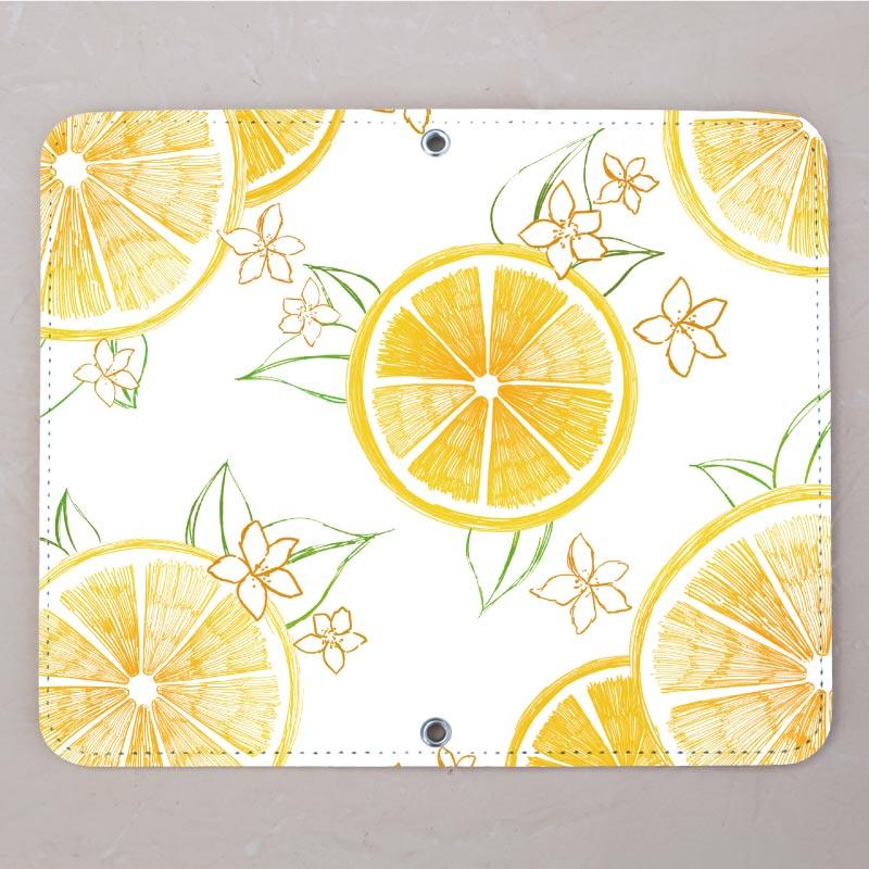 【ベルトなし手帳型】フレッシュレモン