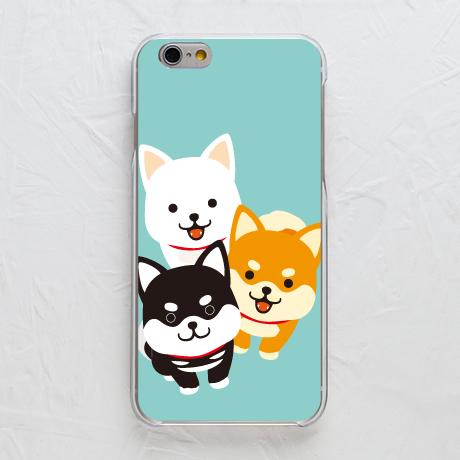 【カバー】柴犬3色