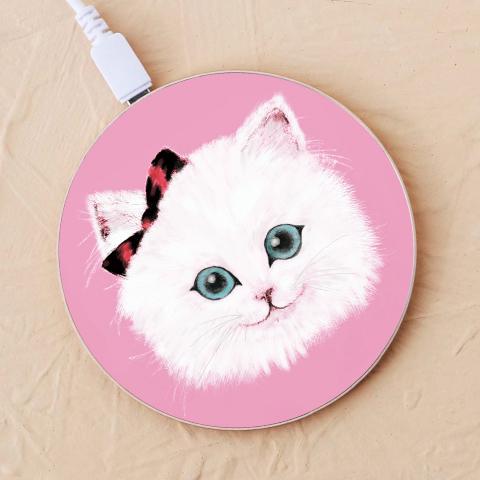 【ワイヤレス充電器】オシャレcat