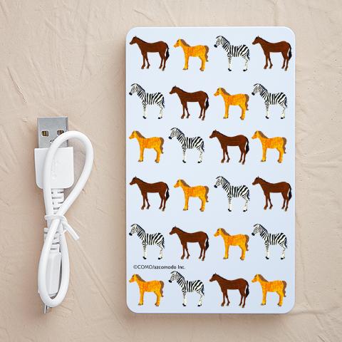 【充電器】馬モノグラム