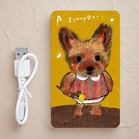 【充電器】Yorkshire-terrier-girl(ヨークシャーテリア)