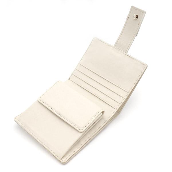 クロコダイル スクエア型二つ折り財布 ヒマラヤ