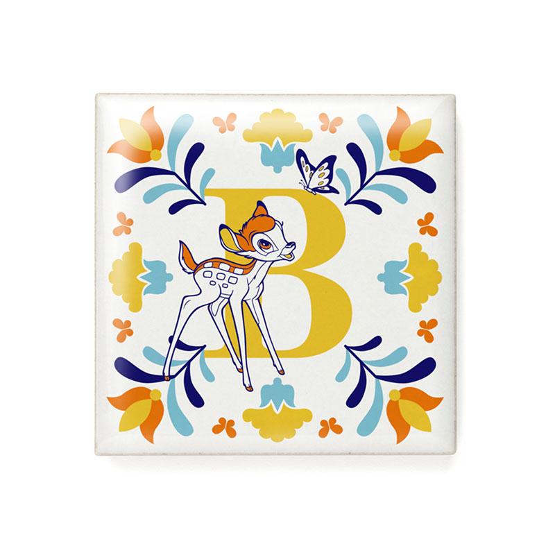 アルファベットタイル(B)バンビ