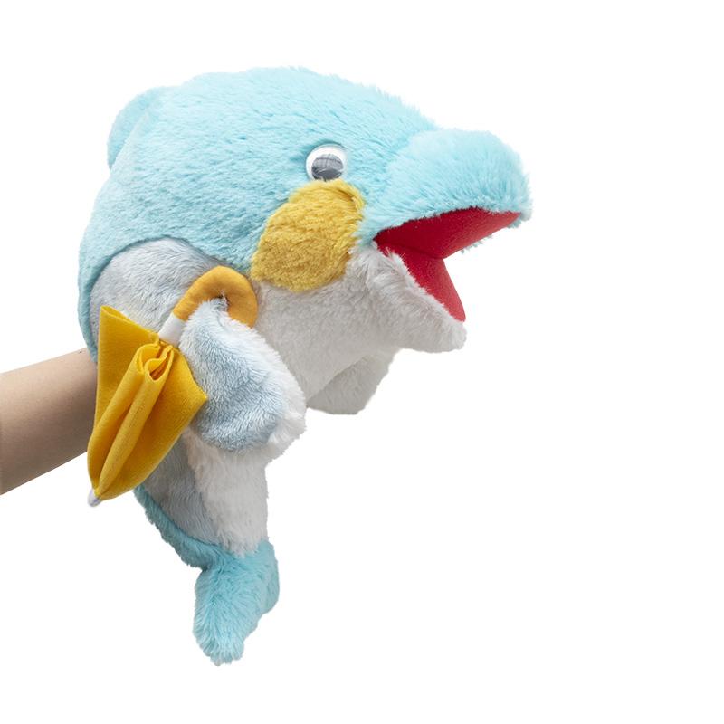 (11月上旬より、順次発送予定)【おかえりモネ】パペット 傘イルカくん