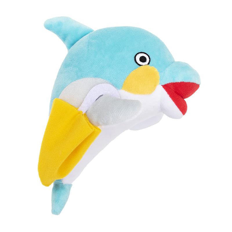 【おかえりモネ】ぬいぐるみ 傘イルカくん