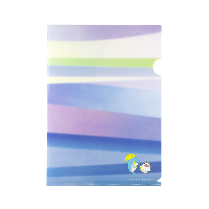 【おかえりモネ】クリアファイル(うみ柄)