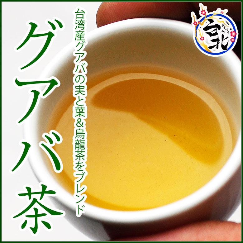 【送料無料】グアバ茶(メール便発送)(ティーパック@2,5g×20個入り)