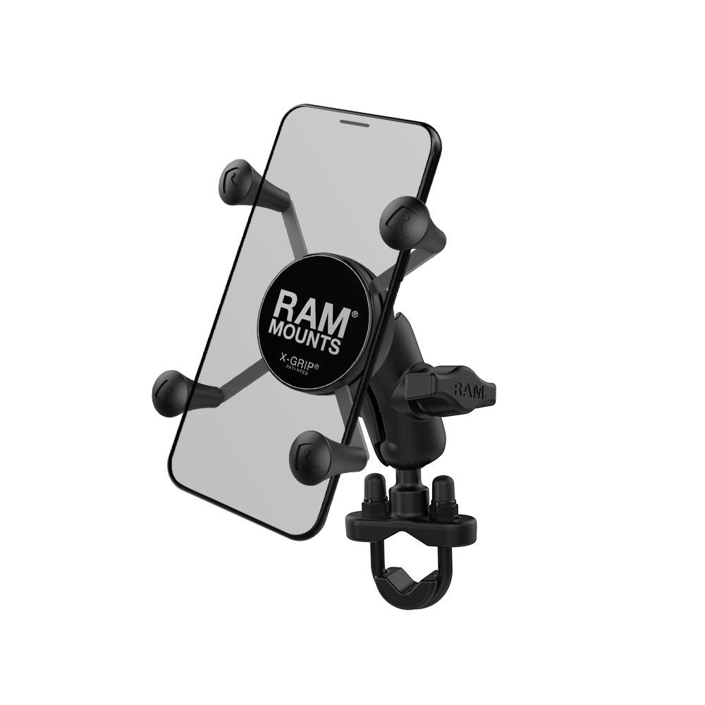 ラムマウント RAM MOUNTS X-グリップパイプRAMマウント/国内正規品 RAM-B149Z-UN7 スマホ スマホホルダー  バイク バイク用品 オフロード 車 カー用品 ボート 登山 キャンプ *送料無料 *小型宅配便