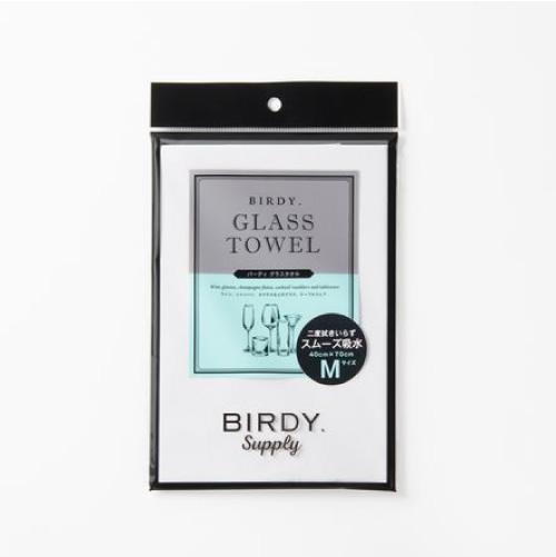 BIRDY. バーディ グラスタオル Lサイズ