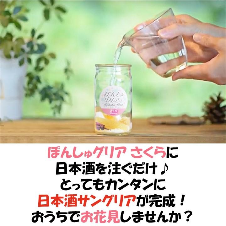 【春季限定】さくらボトル 純米吟醸生貯蔵酒 720ml ぽんしゅグリア さくら 桜 セット 日本酒 新潟 高野酒造