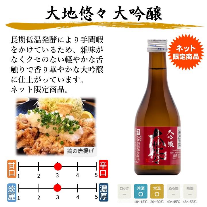 【夏季限定】夏の冷酒 入り 日本酒 飲み比べセット 300ml×5本 新潟 高野酒造