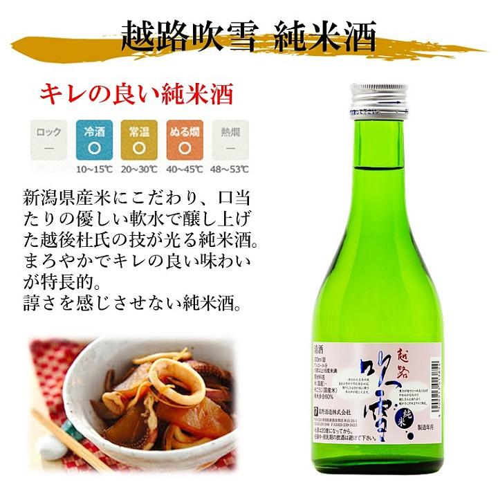 【蔵元限定】大吟醸入り 日本酒 飲み比べセット 300ml×6本 新潟 高野酒造