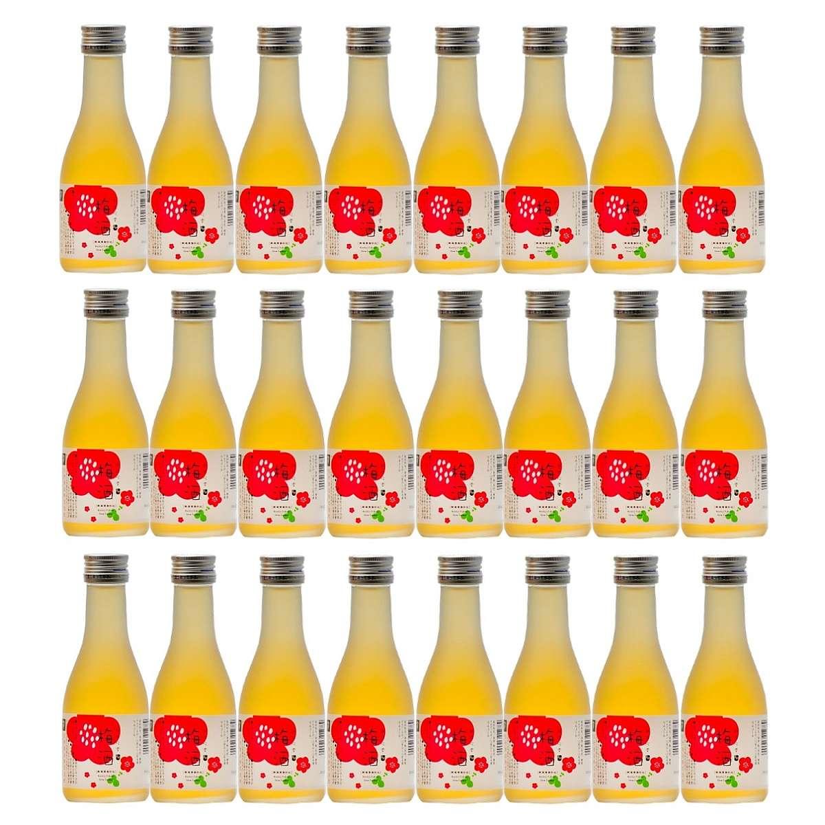 梅酒 越路吹雪 日本酒仕込み180ml×24本 (1ケース) 新潟 高野酒造
