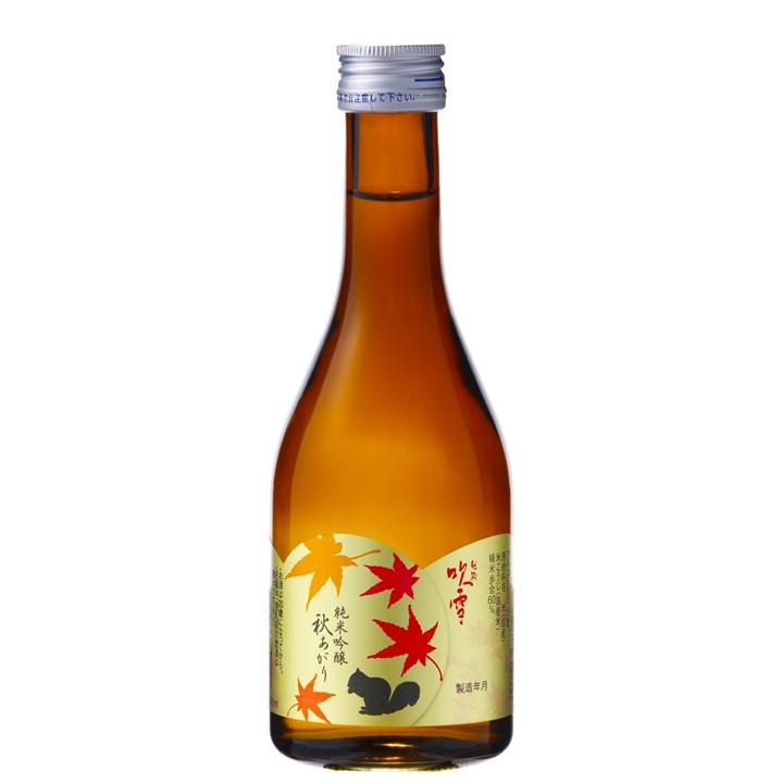 【秋季限定】越路吹雪 秋あがり 2021 純米吟醸酒 300ml ひやおろし お酒 日本酒 新潟 高野酒造