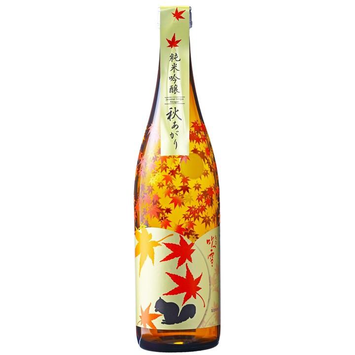 【秋季限定】越路吹雪 秋あがり 2021 純米吟醸酒 720ml ひやおろし お酒 日本酒 新潟 高野酒造