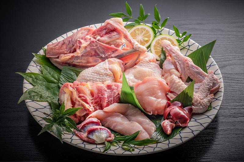 【送料無料】かねまる農場 みやざき地頭鶏 1羽まるごとセット<ゆずこしょうプレゼント>