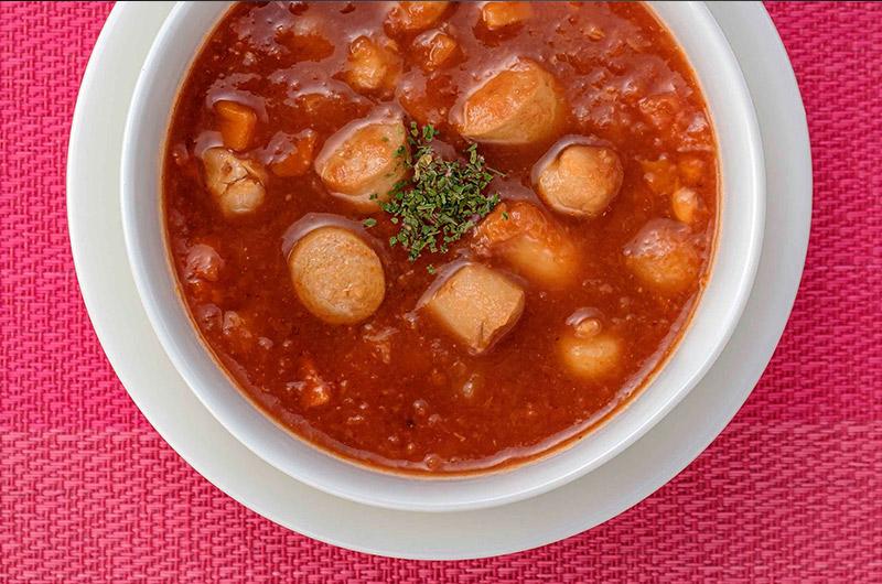 【送料無料】 お肉と野菜の食べるスープセット