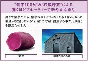 【限定出荷】全量芋焼酎「一刻者」<紫>1.8L