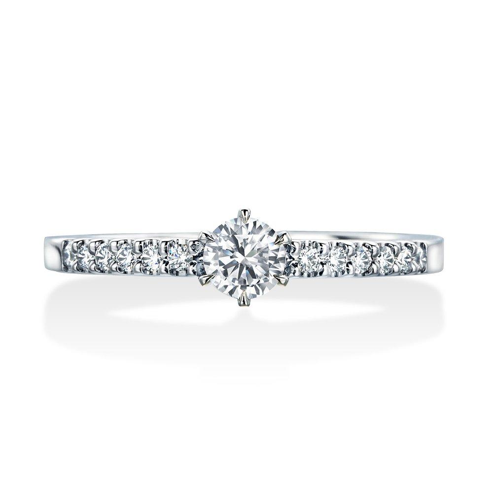 JRI0201PG〈ロイヤル・アッシャー・ダイヤモンド〉