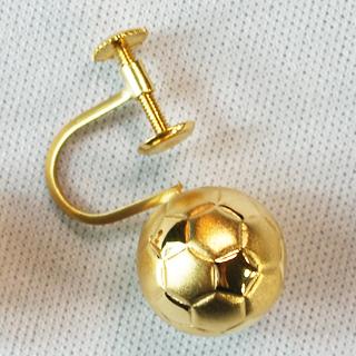 サッカーボール イヤリング