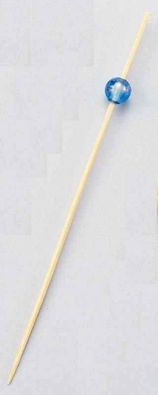 ビーズピックス 9cm(青) 50本