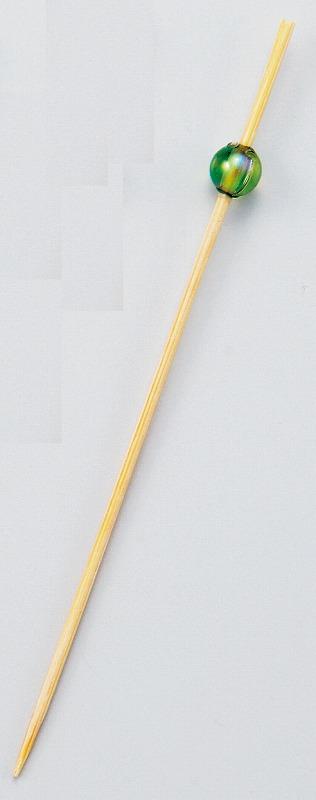 ビーズピックス 9cm(グリーン) 50本