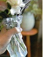 切り花 保水材 「エコゼリー L」 (150g)