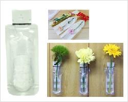 保水キャップ - ミニフラワーボトル (内容:エコゼリー20g) 業務用1箱単位