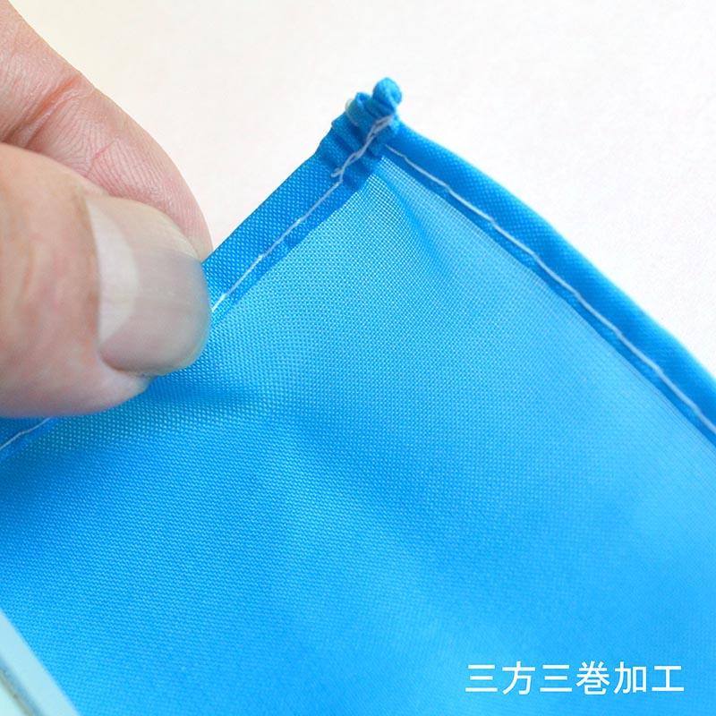 のぼり 女性に人気軽CAR W700×H1800mm (ブルー) /K-200