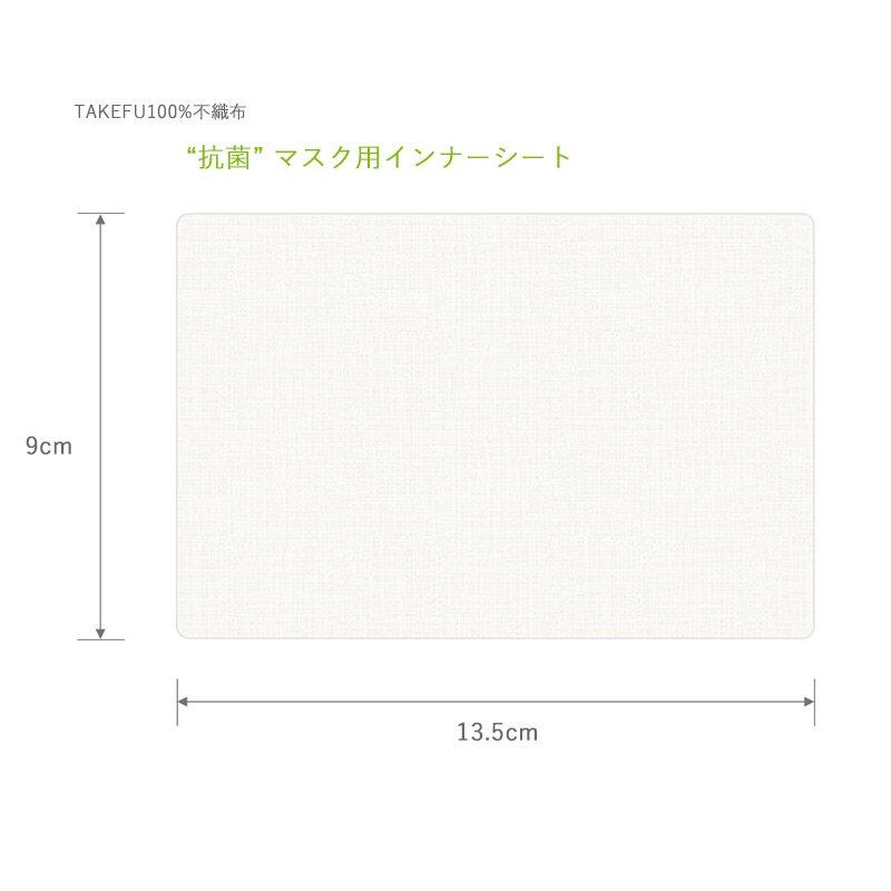 TAKEFU (竹布) マスク用インナーシート(30枚入)