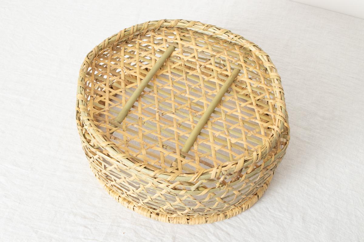 福島県/根曲竹 椀かご 小・中・大・特大(脱衣かご) 4サイズ