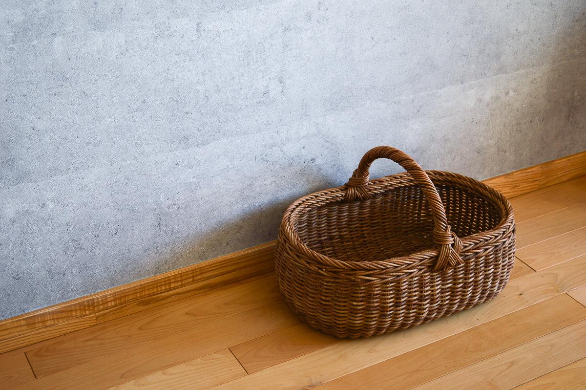長野県/あけび パンバスケット