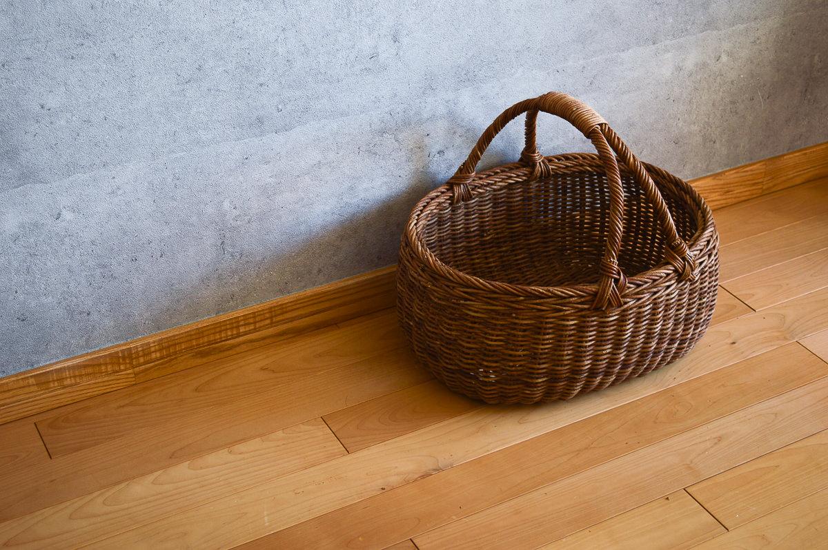 長野県/あけび 小判合せ手バスケット