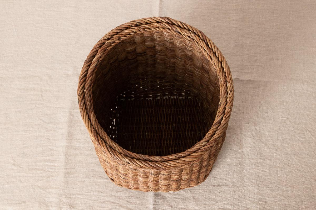 長野県/あけび 特製並編寸胴かご