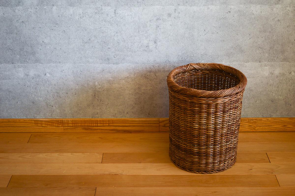 長野県/あけび 並編寸胴かご