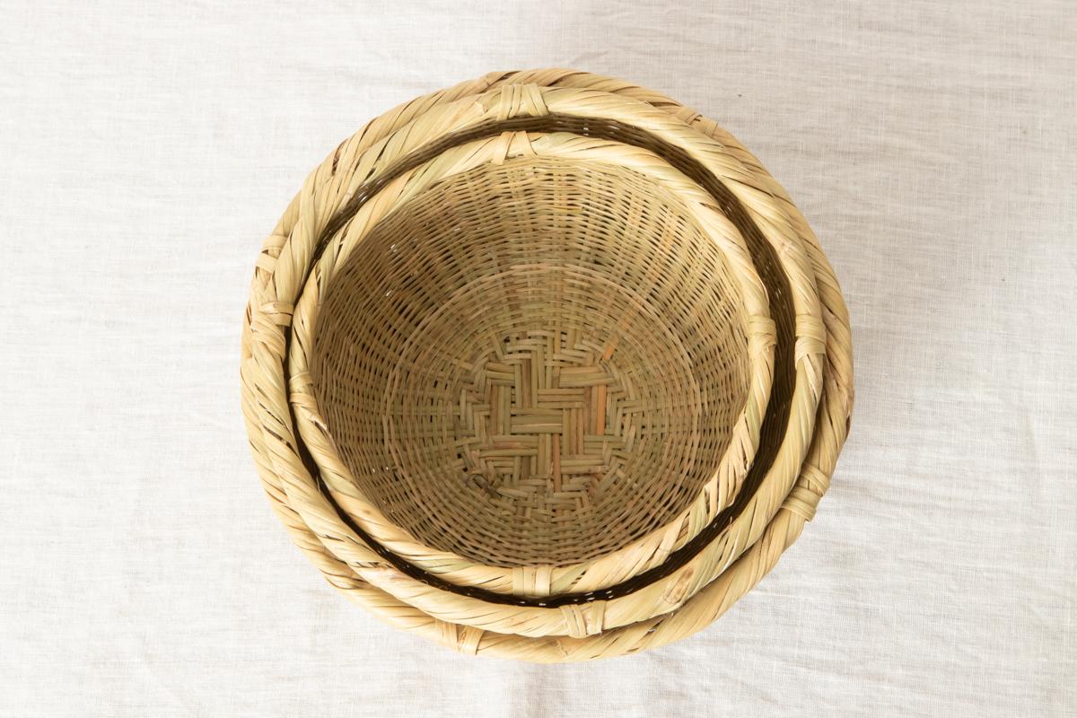 山梨県/スズ竹 小ざる(米とぎざる・水切りざる) 特小・小・中 3サイズ