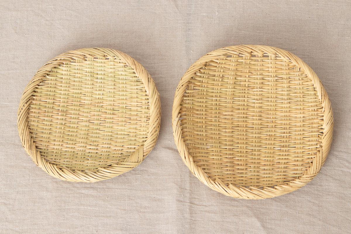 岩手県/すず竹 丸ざる 七寸・八寸 2サイズ