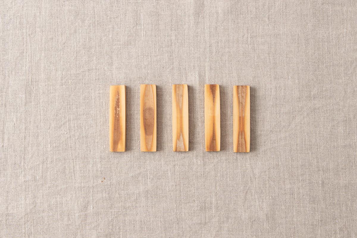 高知県/炭竹 箸置き 5種