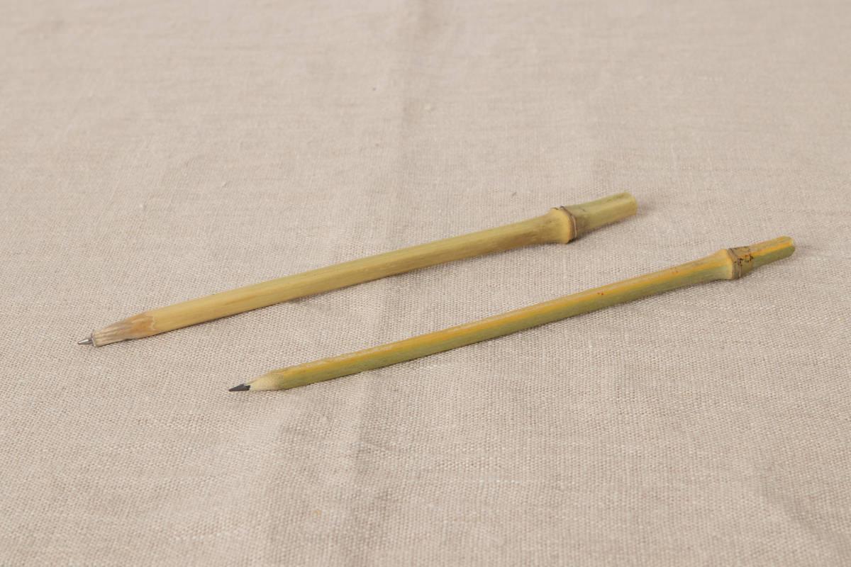 大分県 竹枝エンピツ・竹枝ボールペン 2種