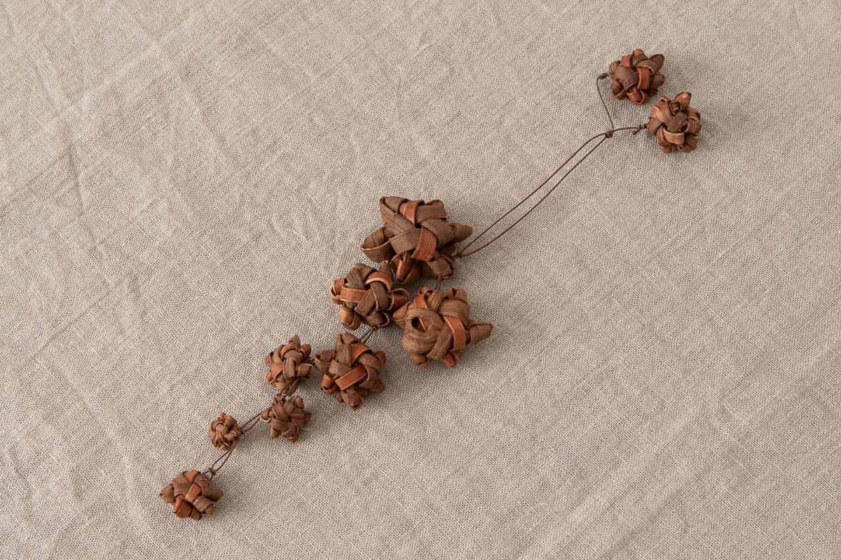 山形県/やまぶどう 花ぶどうチャーム