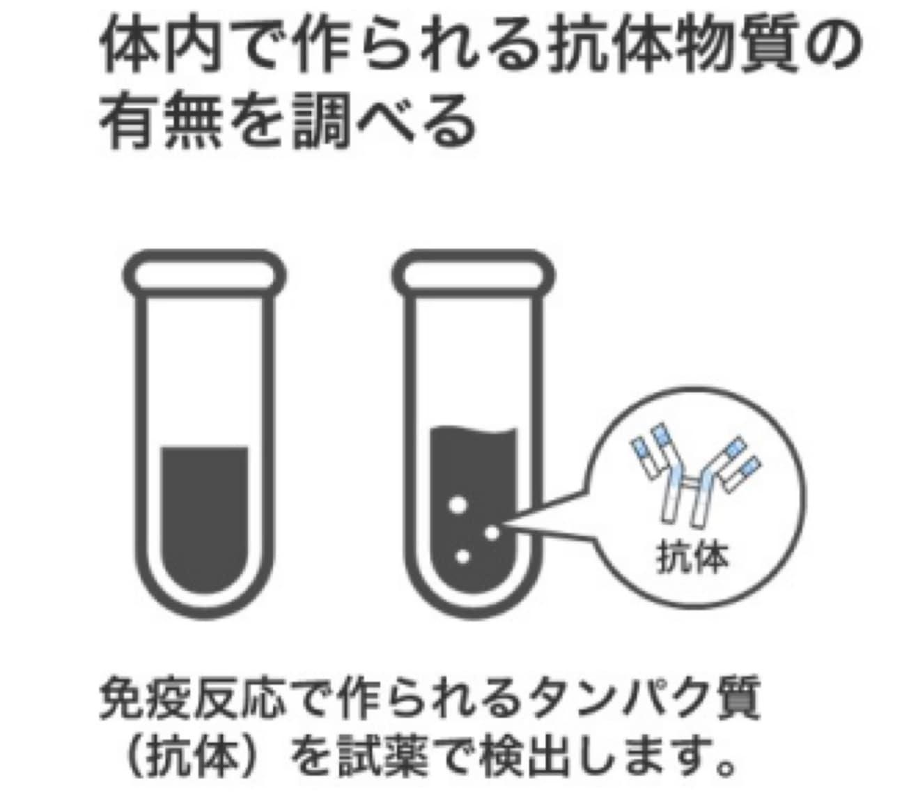 【10キット】コロナウイルス抗体検査キット(1キットあたり2,100円)採血針つき※平日12時までの決済で即日出荷